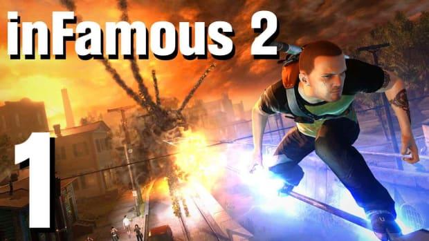 A. inFamous 2 Walkthrough Part 1: Introduction - Leaving Empire City Promo Image