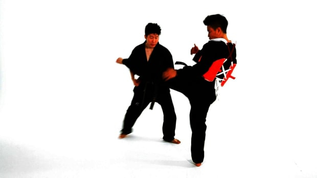 ZM. How to Do Taekwondo Sidestep Technique 3 Promo Image