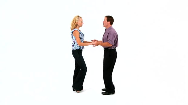 N. How to Do a East Coast Swing Left Side Pass in Swing Dance Promo Image
