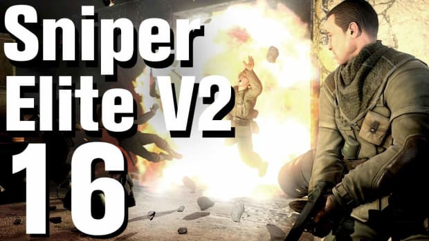 P. Sniper Elite V2 Walkthrough Part 16 - Opernplatz Promo Image