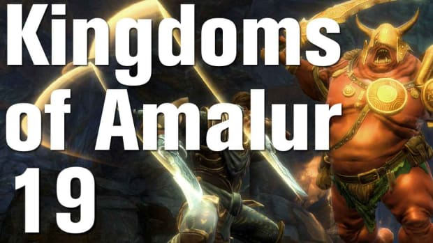 S. Kingdoms of Amalur: Reckoning Walkthrough Part 19 - Defend Hugues Promo Image