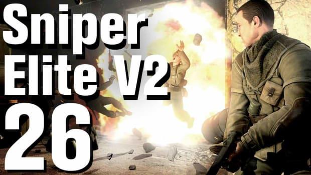 Z. Sniper Elite V2 Walkthrough Part 26 - Tiergarten Flak Tower Promo Image