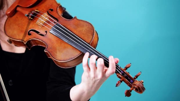 ZG. How to Play G, A & B Notes on Violin Promo Image