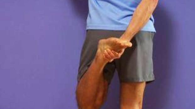 E. How to Stretch Your Quadriceps Promo Image