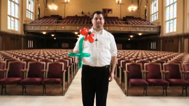 T. How to Make a Balloon Flower Promo Image