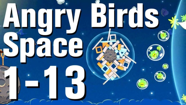 M. Angry Birds: Space Walkthrough Level 1-13 Promo Image