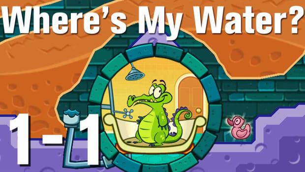 A. Where's My Water Walkthrough Level 1-1 Promo Image