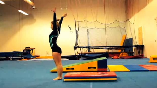 K. How to Do a Somersault in Gymnastics Promo Image