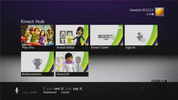 F. How to Use Kinect Voice Control Promo Image
