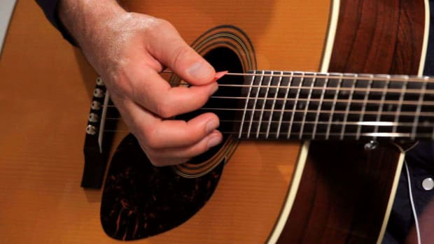 C. How to Play Country Guitar with a Flatpick Promo Image