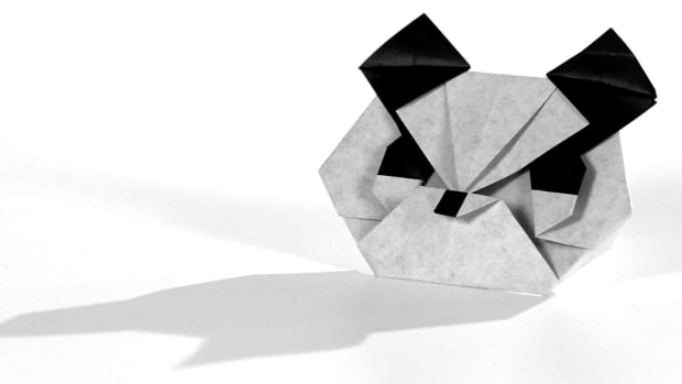 ZJ. How to Make an Origami Panda Promo Image