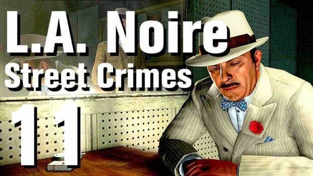 """K. L.A. Noire Walkthrough Street Crimes 11: """"Army Surplus"""" Promo Image"""