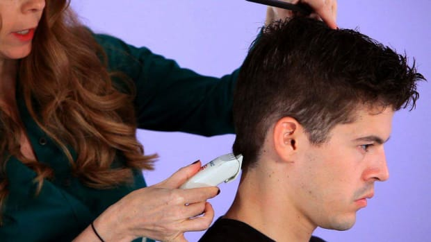 G. How to Cut a Man's Hair with Clippers Promo Image