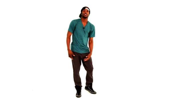 K. How to Do a Hip-Hop Krumping Buck Hop Promo Image