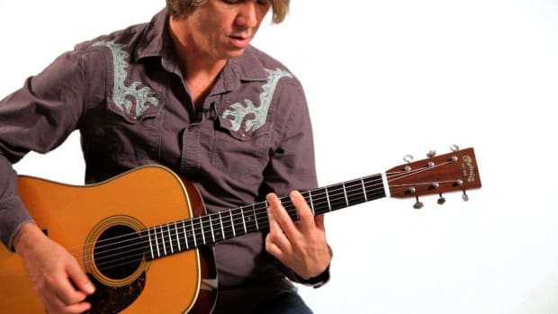 Y. How to Play Movable Chord Shapes in Country Guitar Promo Image