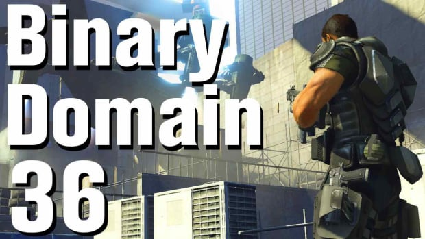 ZJ. Binary Domain Walkthrough Part 36 - Tsar Runner Promo Image