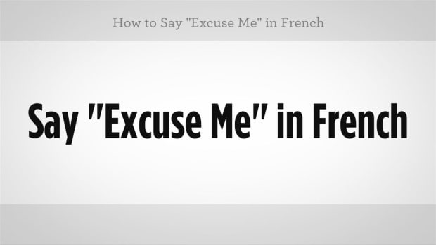 "K. How to Say ""Excuse Me"" in French Promo Image"