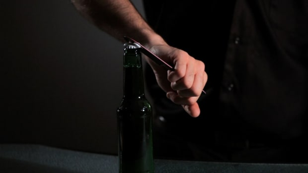 X. How to Do the Hanging Beer Opening Trick in Flair Bartending Promo Image
