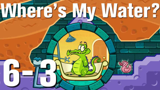 ZZZY. Where's My Water Walkthrough Level 6-3 Promo Image