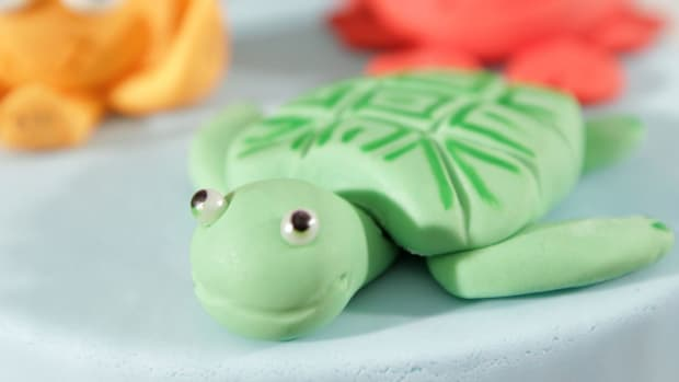 R. How to Make a Fondant Turtle Promo Image