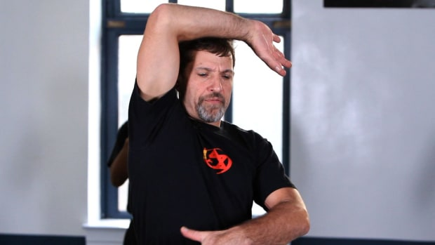 N. How to Do a Krav Maga Hammer Elbow Promo Image