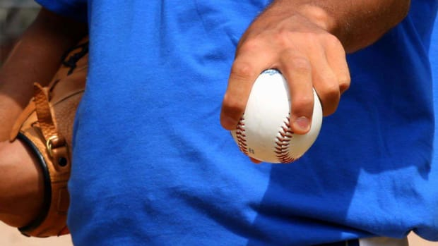 V. How to Pitch a Forkball in Baseball Promo Image