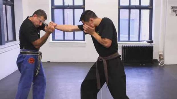K. How to Defend against an Attack with a Knife in Krav Maga Promo Image