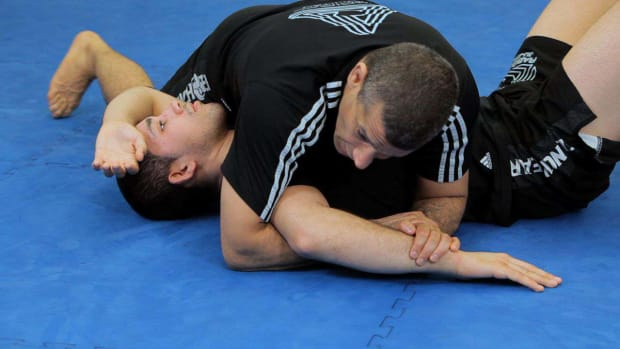 I. How to Do a Kimura from Side Control MMA Submission Promo Image