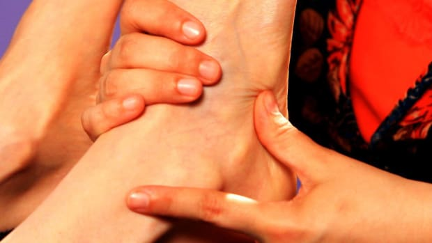 ZB. How to Work the Outside of the Foot with Reflexology Promo Image