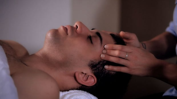 M. How to Give a Head Massage Using Ayurvedic Techniques Promo Image
