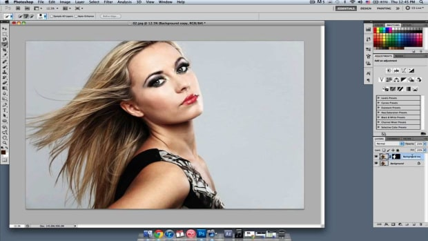 C. How to Change Hair Color in Photoshop, Part 1 Promo Image
