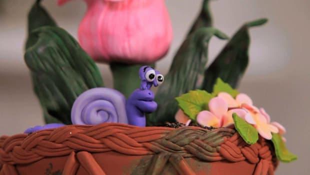 I. How to Make a Fondant Snail Promo Image