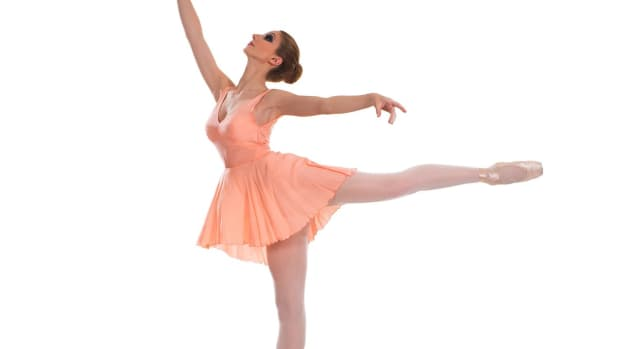 R. How to Do an Arabesque in Ballet Promo Image