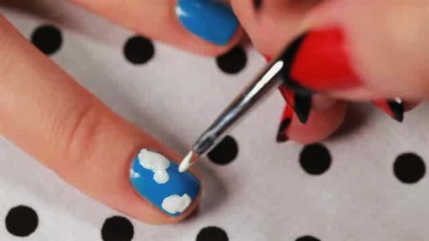 F. How to Create a Camouflage Nail Art Design Promo Image