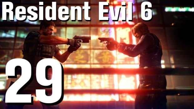 ZC. Resident Evil 6 Walkthrough Part 29 - Chapter 4 Promo Image