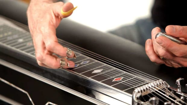M. How to Understand the Pedal Steel Guitar Fret Board Promo Image
