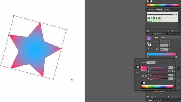 ZQ. How to Edit Radial Gradient Colors with Adobe Illustrator Promo Image