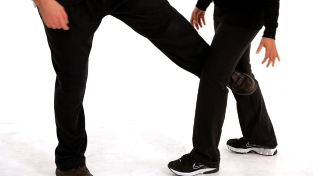 S. How to Use Your Legs & Feet in Self-Defense Promo Image