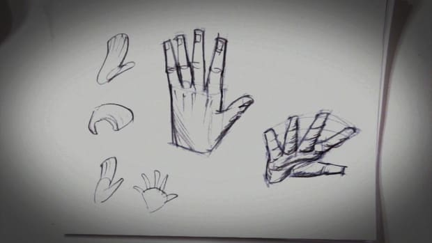 A. How to Draw Hands Promo Image