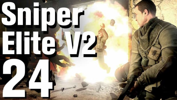 X. Sniper Elite V2 Walkthrough Part 24 - Tiergarten Flak Tower Promo Image