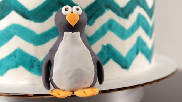 X. How to Make a Fondant Penguin Promo Image
