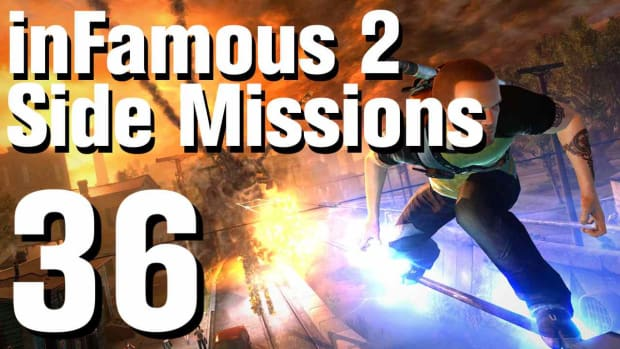 ZZZD. inFamous 2 Walkthrough Side Missions Part 36: Stronghold Promo Image