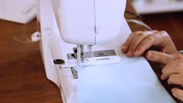 P. How to Sew a Machine Buttonhole Promo Image