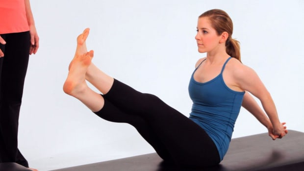 ZZO. How to Do the Boomerang in Pilates Promo Image