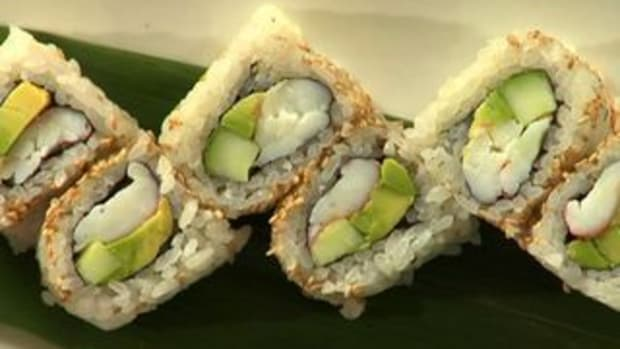 E. How to Make an Inside Out California Roll Promo Image
