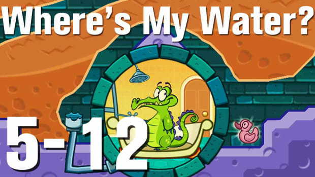 ZZZN. Where's My Water Walkthrough Level 5-12 Promo Image