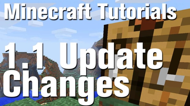 ZO. Minecraft 1.1 Update changes Promo Image
