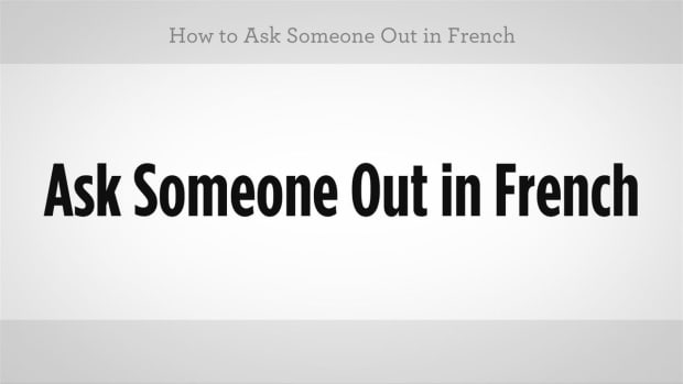 ZX. How to Ask Someone Out in French Promo Image