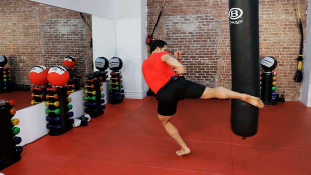 J. How to Do a Kickboxing Roundhouse Kick Promo Image