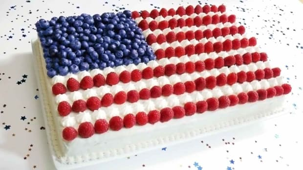 C. How to Make a Flag Cake Promo Image